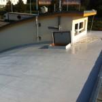 Rekonstrukce poloviny střechy obloukové