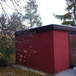 Trafostanice Izolace z PVC střechy