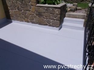 Hydroizolace plochých střech PVC-Brnn